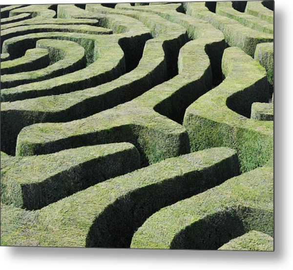 Amazing Maze Metal Print by Oversnap
