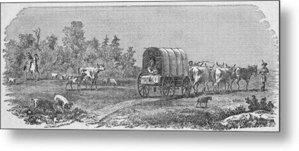 American Pioneers Metal Print by Kean Collection