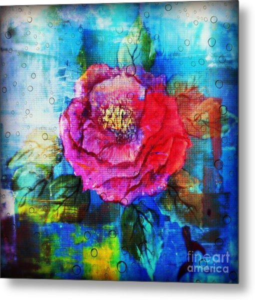 Metal Print featuring the mixed media Amidst The Chaos by Sabine ShintaraRose