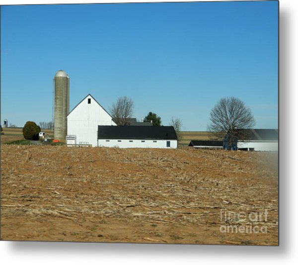 Amish Farm Days Metal Print