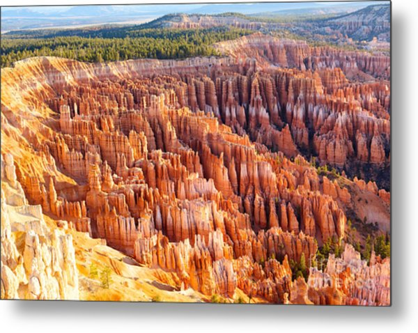Amphitheater From Inspiration Point At Metal Print