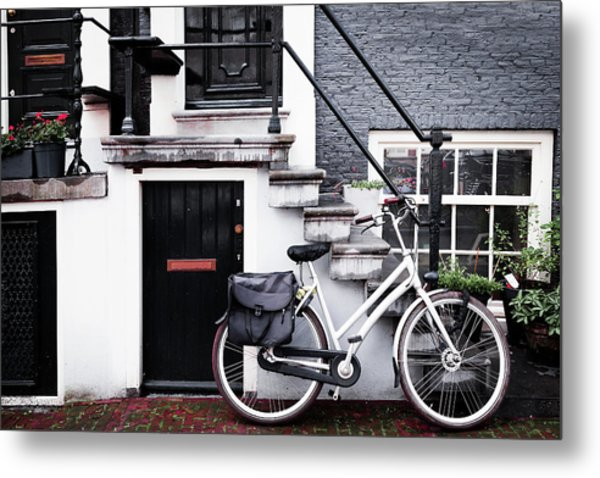 Amsterdam Entrance Metal Print