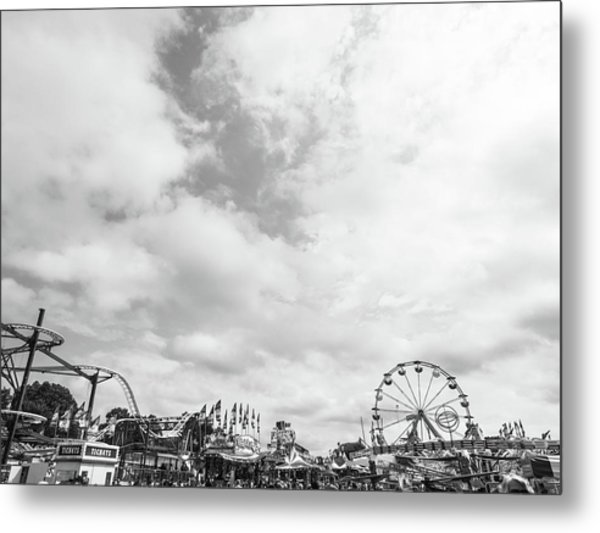 Amusements Metal Print