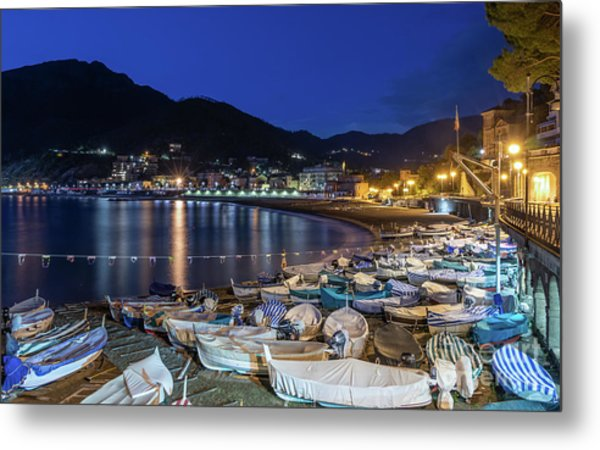An Evening In Levanto Metal Print