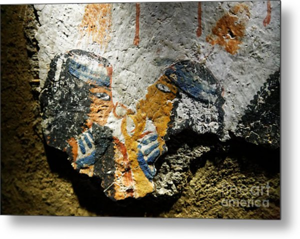 Metal Print featuring the photograph Ancient Egypt Art  by Sue Harper