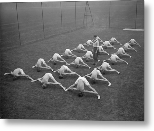 And Stretch Metal Print by Fox Photos