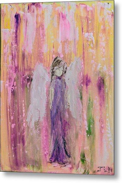Angel In  Paradise Metal Print