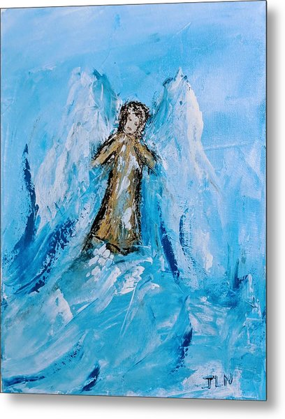 Angel With A Purpose Metal Print