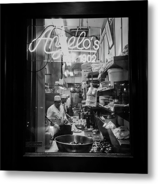 Angelo's Of Mulberry Street Metal Print
