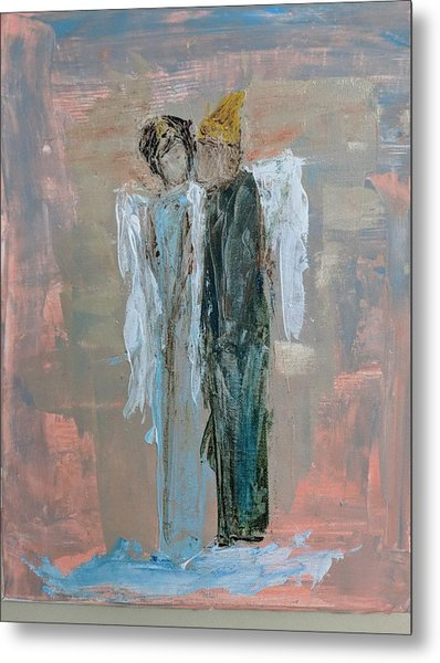 Angels In Love Metal Print
