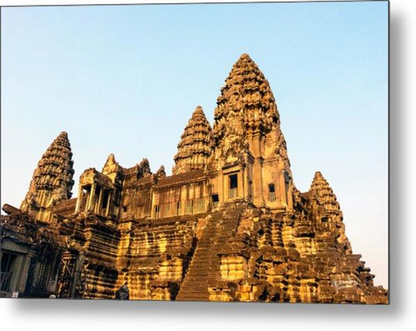 Angkor Wat Temple 1, Cambodia Metal Print