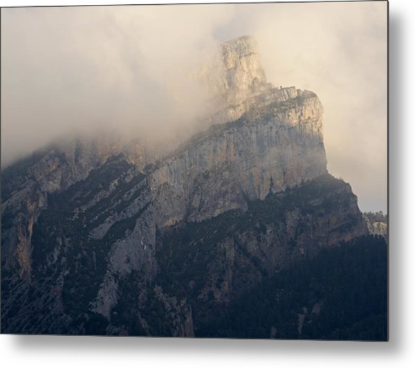 Metal Print featuring the photograph Anisclo Abstract by Stephen Taylor