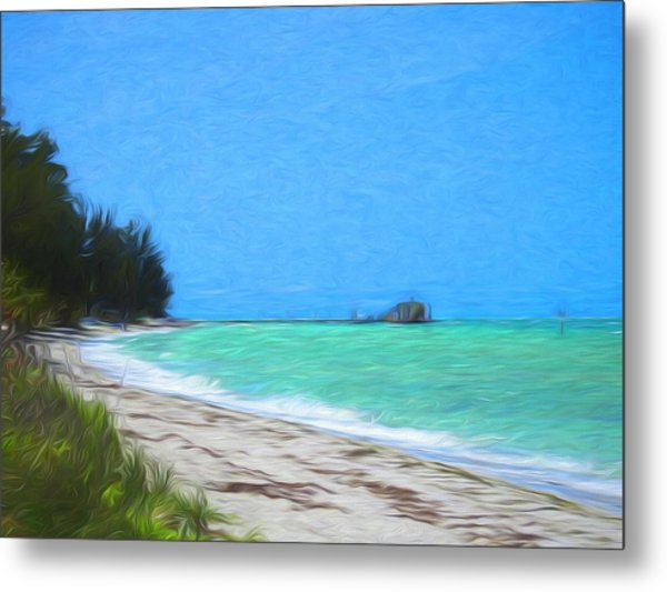 Anna Maria North Shore Metal Print