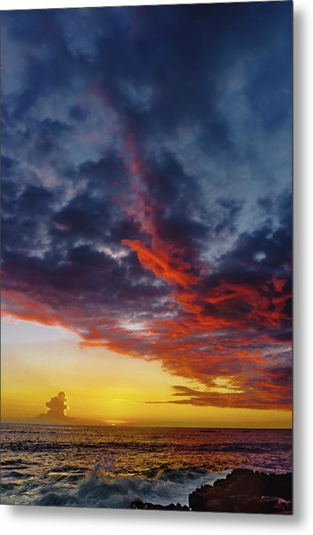 Another Colorful Sky Metal Print
