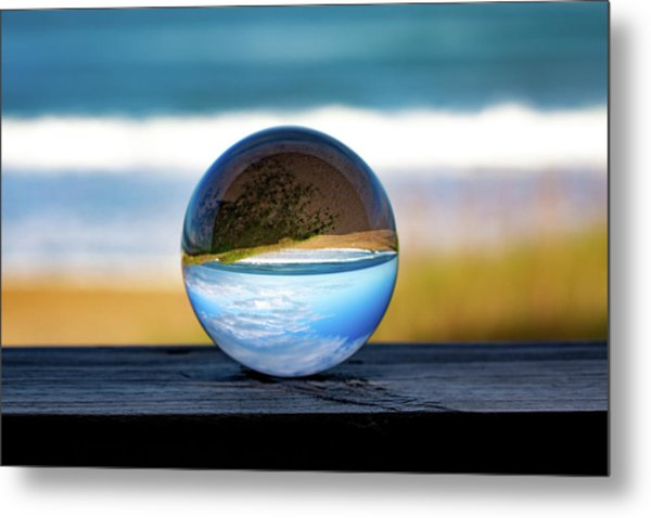 Another Look Through The Lens Metal Print