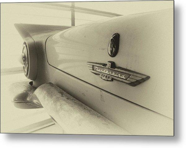 Antique Classic Car Vintage Effect Metal Print