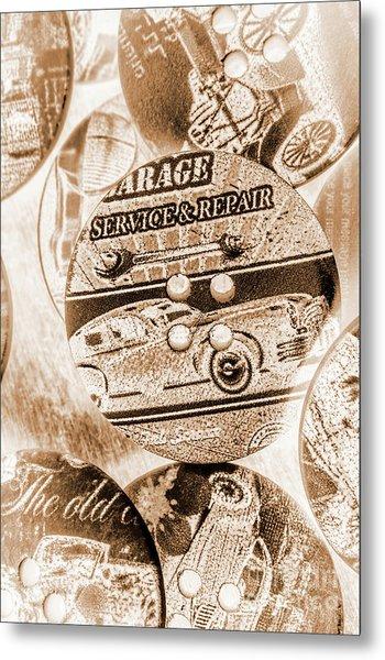 Antique Service Industry Metal Print