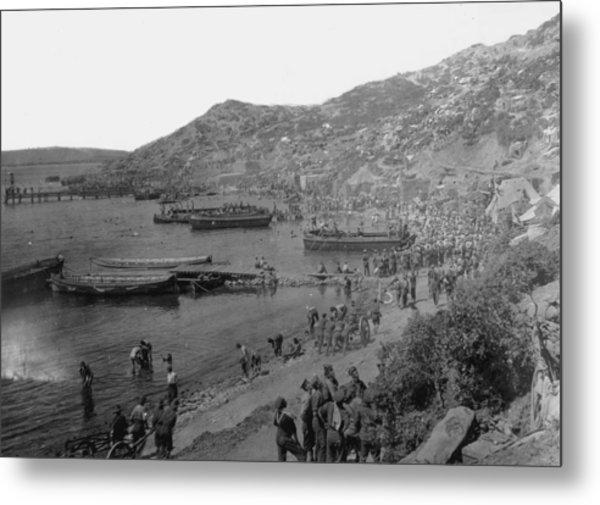 Anzac Cove Metal Print by Hulton Archive