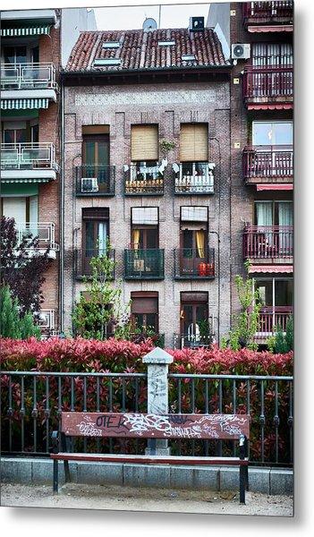 Apartments In Madrid Metal Print