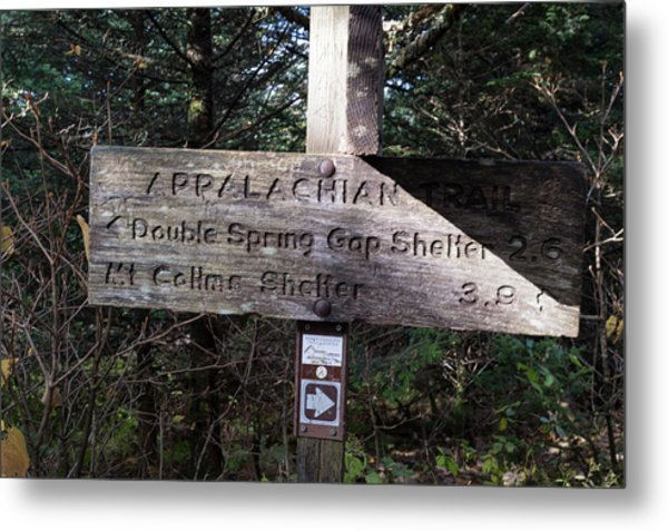 Appalachian Sign Metal Print