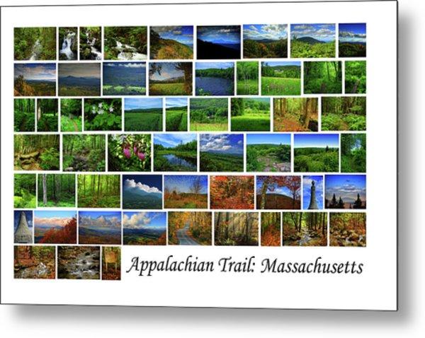Metal Print featuring the photograph Appalachian Trail Massachusetts by Raymond Salani III