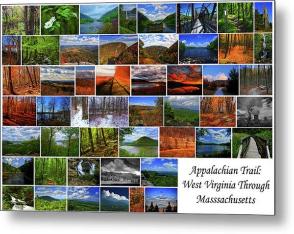 Metal Print featuring the photograph Appalachian Trail West Virginia Through Massachusetts by Raymond Salani III