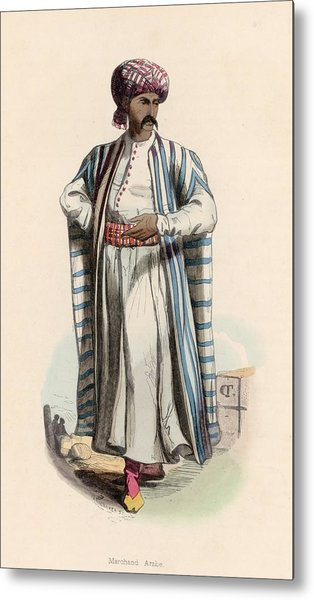 Arab Merchant Metal Print by Hulton Archive