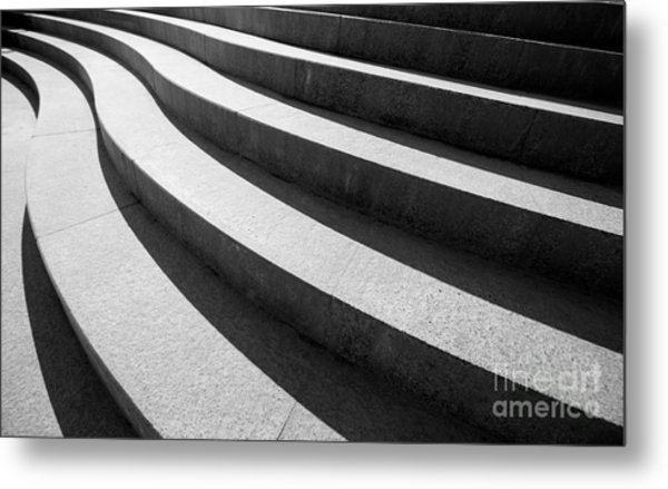 Architectural Design Of Stairs Metal Print