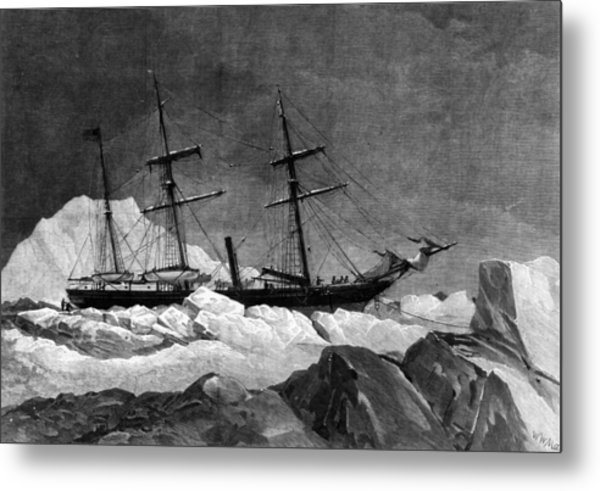 Arctic Exploration Metal Print by Hulton Archive
