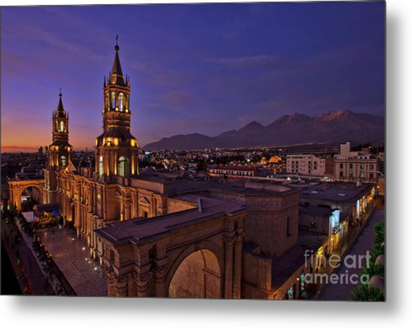 Arequipa Is Peru Best Kept Travel Secret Metal Print