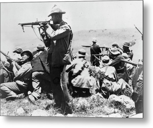 Armed Afrikaners Metal Print by Hulton Archive