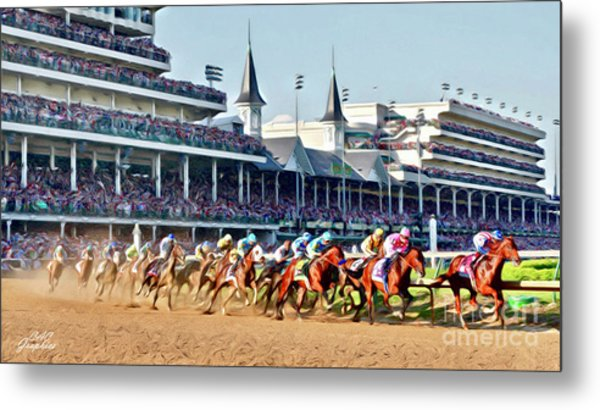 Around The First Turn Metal Print
