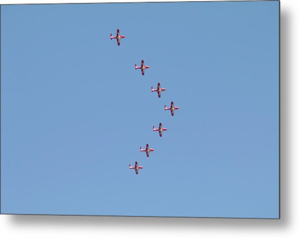 Arrow Formation Metal Print