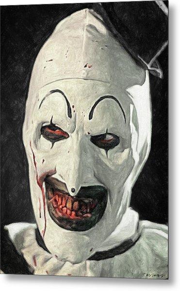 Art The Clown Metal Print