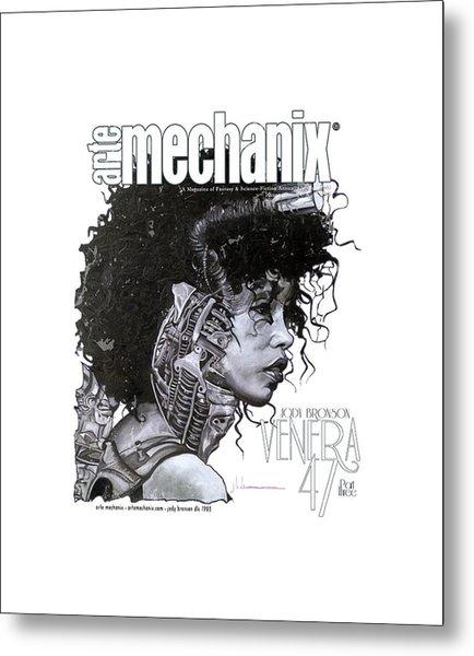 arteMECHANIX 1903 VENERA47 Pt.3 GRUNGE Metal Print