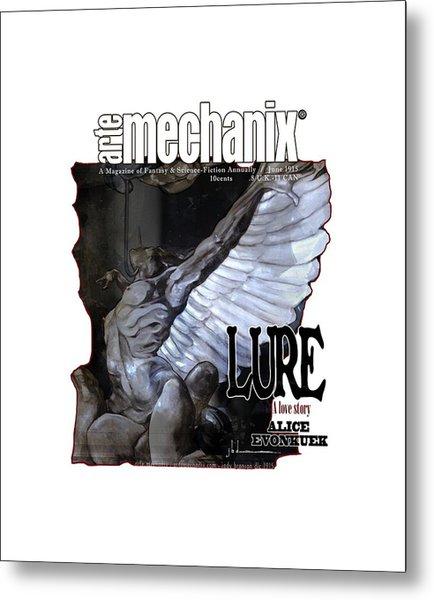 arteMECHANIX 1915 LURE GRUNGE Metal Print