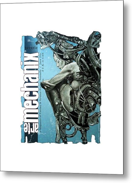 arteMECHANIX 1931 REVERIE  GRUNGE Metal Print