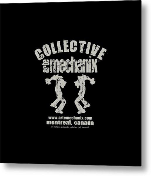 arteMECHANIX COLLECTIVE GRUNGE Metal Print