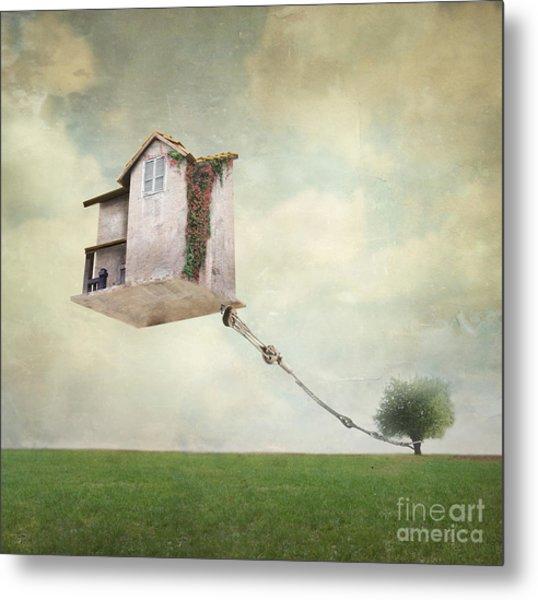 Artistic Image Representing An House Metal Print