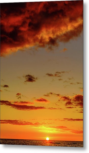 As The Sun Touches Metal Print