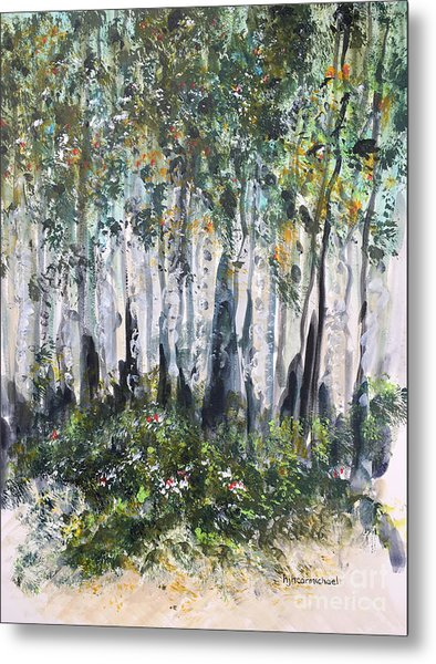Aspenwood Metal Print