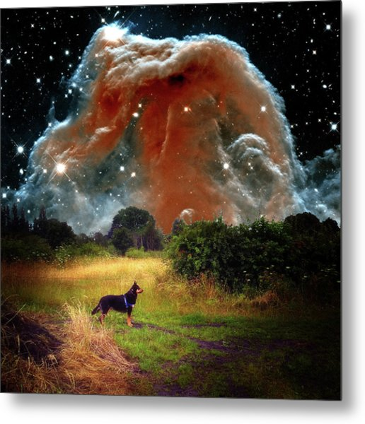 Metal Print featuring the photograph Aspiring Lunar Rover Outer Space Image by Bill Swartwout Fine Art Photography