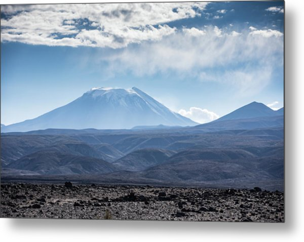 Atacama Volcano Metal Print