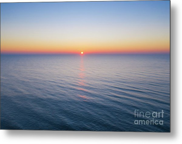 Atlantic Ocean Sunrise  Metal Print