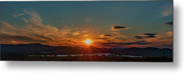 Metal Print featuring the photograph Attean Pond Sunset by Rick Hartigan