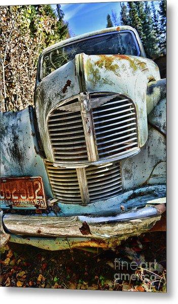 Austin A40 Metal Print