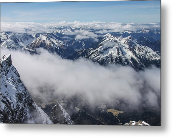 Metal Print featuring the photograph Austrian Alps by Dawn Richards