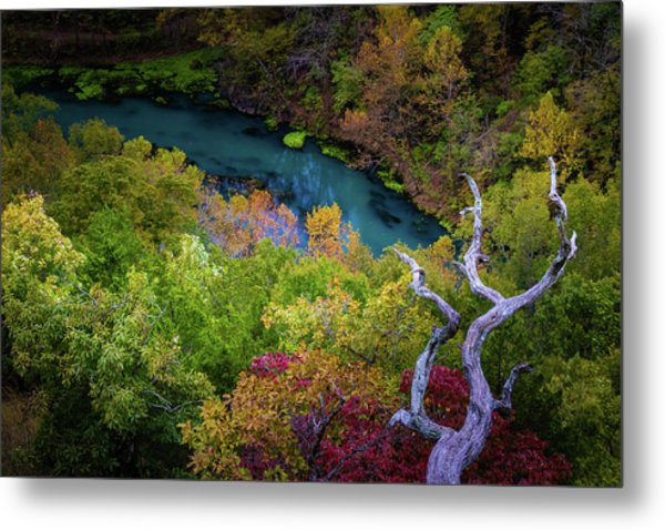 Autumn At Ha Ha Tonka State Park Metal Print