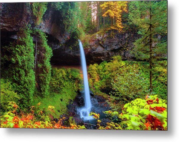 Autumn At North Falls Metal Print