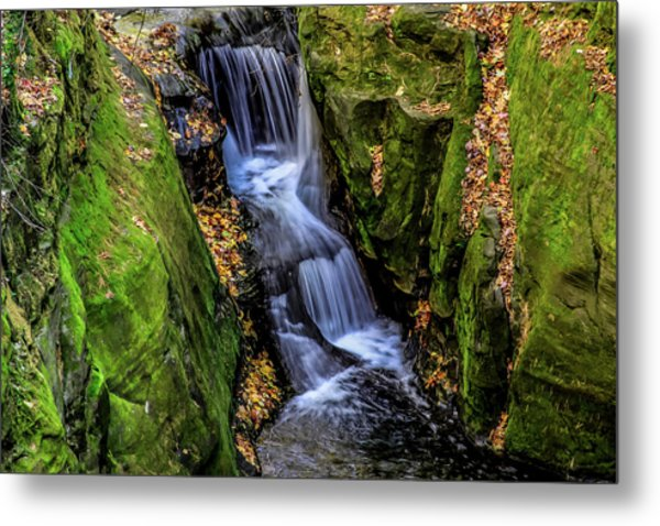 Autumn At Pewits Nest Metal Print